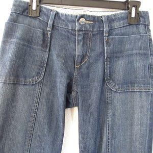 Joe's Jeans Aimee Boot Cut Mid Rise Blue Denim